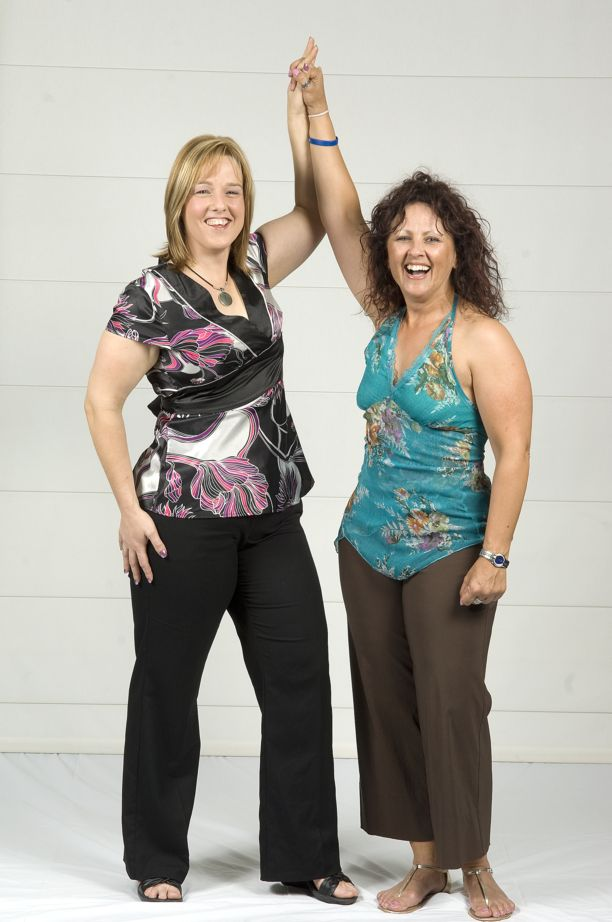 Jodie Celebrating With Personal Trainer Trish McNicholl